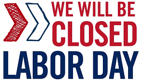 Labor Day - Offices Closed for Holiday